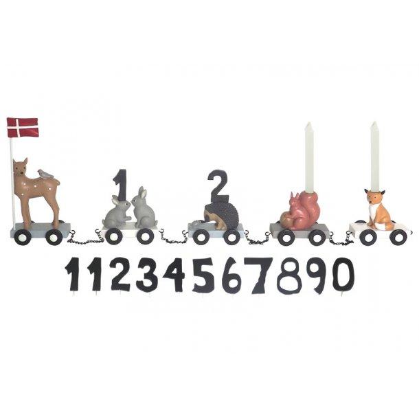 KIDS by FRIIS - Fødselsdagstog, skovdyr