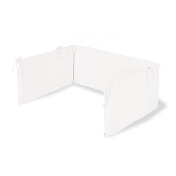 Pinolino - Sengerand til Babyseng 165x28cm - Jersey/Hvid