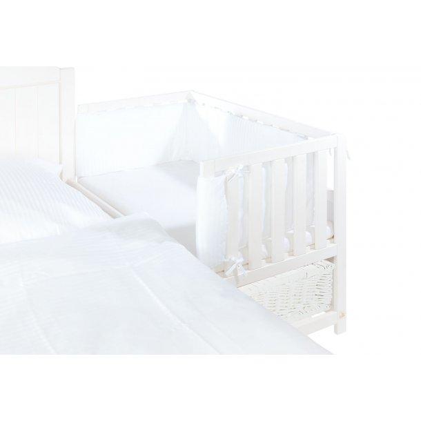 Pinolino - Sengerand til Bedside Crib 200x28cm - Hvid