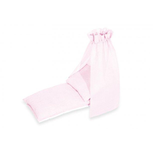 Pinolino – Sengetøj til dukkevugge, Rosa